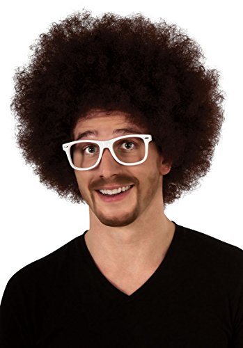 LMFAO Red Foo Wig Halloween Costume Redfoo