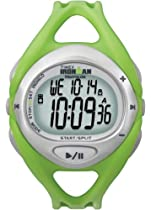 Timex Unisex T5K058 Green Ironman Sleek iControl Resin Strap Watch