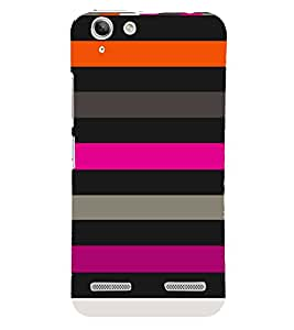 Lines Girl Fashion Design 3D Hard Polycarbonate Designer Back Case Cover for Lenovo Vibe K5 Plus :: Lenovo Vibe K5+