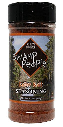 Swamp People Gator Bait Seasoning No Guts No Gator (Gator Bait Seasoning, 5.25oz (Georgia Peach Salsa compare prices)