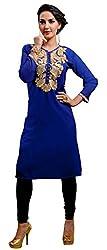 Viva N Diva womens blue color kurtis new style.