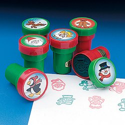 Holiday Stampers - 12 Pc Christmas Stamps Assortment