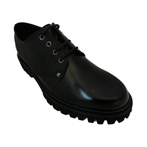 Soldini made in italy Scarpe Sneaker Uomo Mens an70 Nero (40)