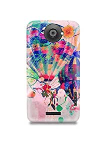 Abstract Hot Air Balloon HTC One X Case