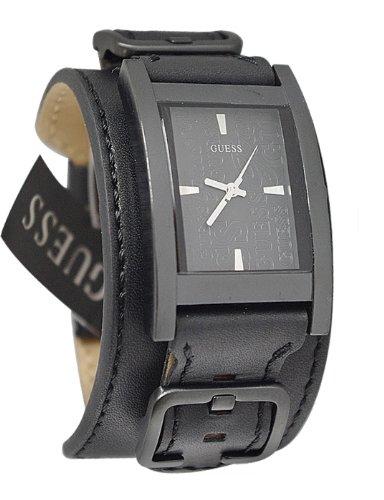GUESS U95139G1 Bold Buckled Cuff Watch