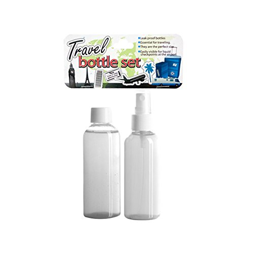Bulk Buys Outdoor Trip Travel Bottle Set Pack Of 24
