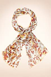 Indigo Collection Floral Lightweight Scarf [T01-5342I-S]