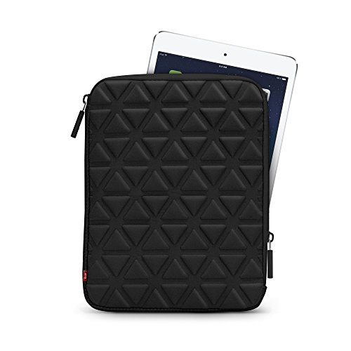 "Iluv Belgique (Icc2011) Foam-Padded Sleeve For All Ipads And Most 10"" Tablets-Black front-20463"