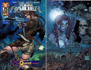CineQuest.com SDCC Exclusive Tomb Raider #43 & #44 Set - 1