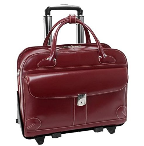 mckleinusa-lakewood-96616-red-leather-fly-through-checkpoint-friendly-detachable-wheeled-ladies-brie