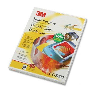 Multipurpose Transparency Film for Laser Printer & Copiers 50sht