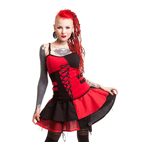 Heartless -  Gonna  - a balze - Donna Black/Red Large