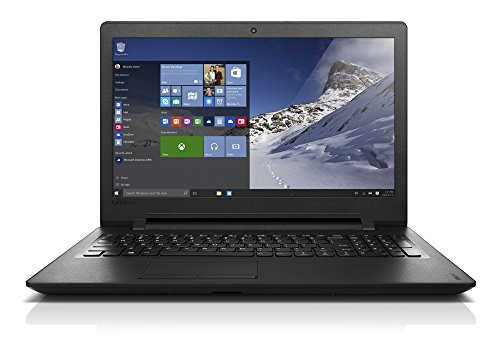 "Lenovo Ideapad 110-15IBR Ordinateur Portable 15"" Noir (Intel Celeron, 4 Go de RAM, disque dur 500 Go, Windows 10)"