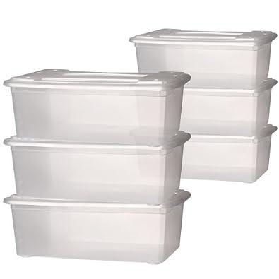 Rangement et organisation paniers et boites de rangement - Boite de rangement pour chaussures ...