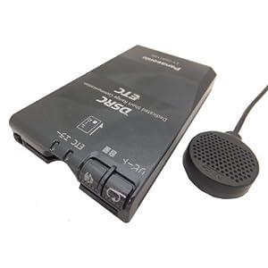Panasonic (パナソニック) [ DSRC車載器 ] DSRC&ETC機能搭載 業界最小クラス 発話型 ナビ連動 アンテナ分離型 ブラック (12V/24V ) [ NEW ] CY-DSR110D