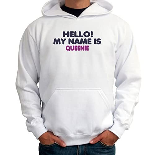 Hello! My name is Queenie メンズパーカー