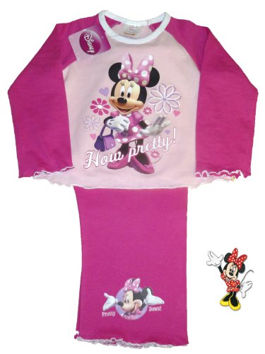 Girls Disney Minnie How Pretty Pyjamas 18-24 Months