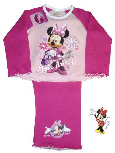 Girls Disney Minnie How Pretty Pyjamas 18-24 Months