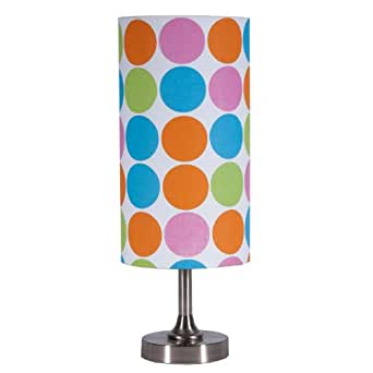 Small Pretty Floral Accent Table Lamp
