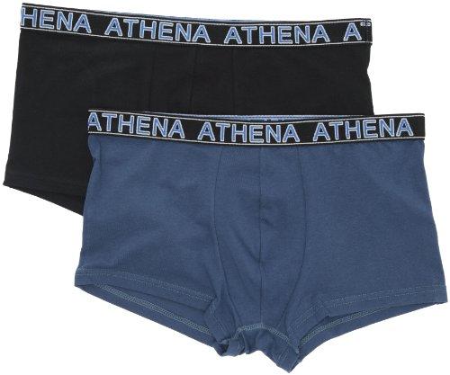 Athena Essentiel - Shorty - Homme - Noir / Bleu Jeans - L