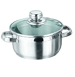 Vinod Cookware Breman Sauce Pot, 2 Litres