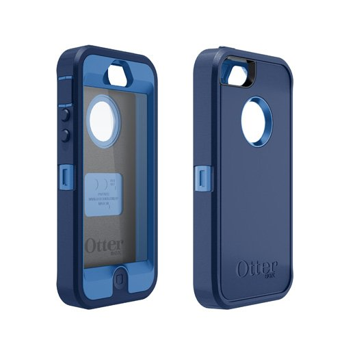 【正規代理店品】OtterBox+Defender+for+iPhone+5+ブルー%2Fネイビー+OTB-PH-000017