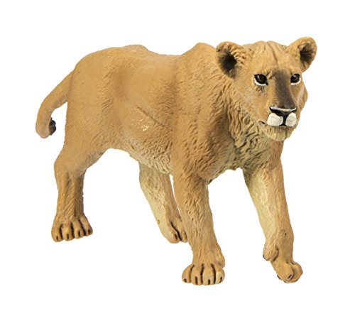 Safari Ltd Wild Safari Wildlife - Lioness - Realistic Hand Painted Toy Figurine Model - Quality Construction from Safe and BPA Free Materials - For Ages 3 and Up