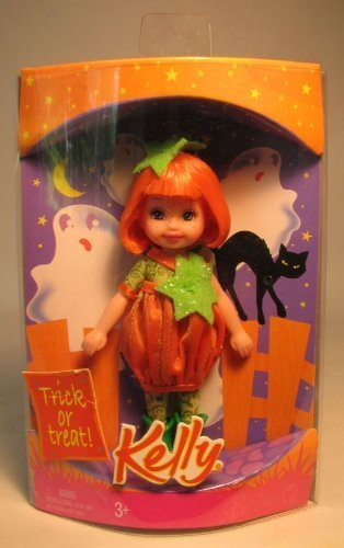 Barbie Kelly Halloween Pumpkin Miranda 2008 - 1
