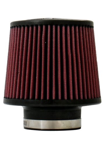 """Injen Technology X-1014-BR Black and Red 3"""" High Performance Air Filter"""