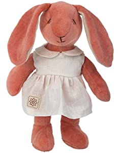 "miYim Organic Plush Fairytale Collection Baby Victoria the Bunny 9"" Plush"