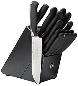 J.A. HENCKELS INTERNATIONAL Fine Edge Synergy 17-pc Knife Block Set