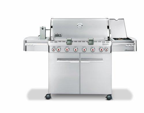 Weber 1780301 Summit S-650 Propane Tuck-Away Rotisserie Grill