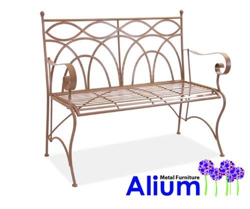 """Alium Gartenbank """"Palermo"""" aus Stahl"""