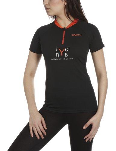 Craft ActiveLYC-RYB, Maglietta da ciclismo da donna, Donna, nero, XS