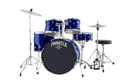 Ludwig Pinnacle Complete 5 piece Drumset by Ludwig, Midnight Blue