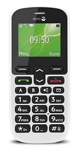 Doro Phone Easy 508 Telefono Cellulare, 4 MB, Bianco