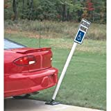 Flexible Sign Posts POLYPROPYLENE 4' YELLOW