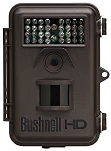 Bushnell 8MP Trophy Cam HD Hybrid Trail Camera with Night Vision, Brown by Bushnell