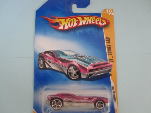 Bye Focal II 	2009 Hot Wheels New Models #10 	Metalflake Magenta - 1