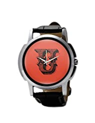 PosterGuy Alphabet U Typography Men's Wrist Watches