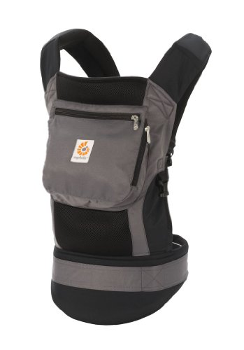 ERGObaby Performance Baby Carrier, Charcoal Black