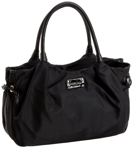 Kate Spade Gramercy Park Stevie Satchel,Black,one size