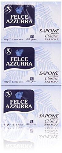 Felce Azzurra - Sapone, profumo Classico, 3 x 100 g