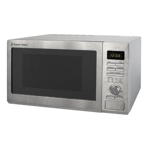 Russell Hobbs Stainless Steel Microwave, 25 Litre, 900 Watt