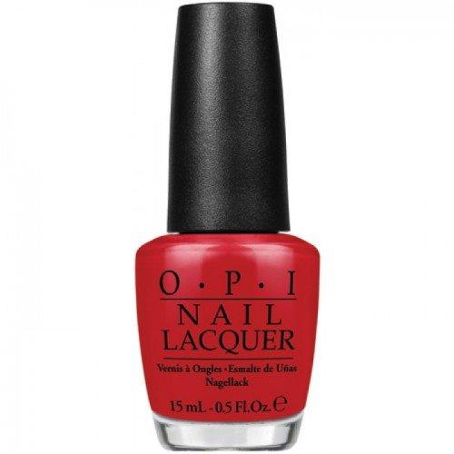 Opi Brazil 2014-Smalto Collection Hot Rio, colore: rosso