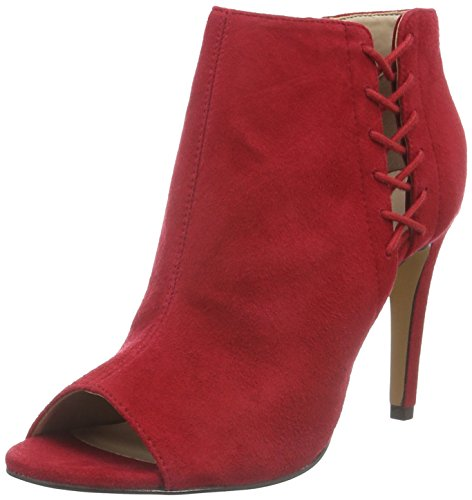French ConnectionQuincy - Stivali bassi con imbottitura leggera Donna , Rosso (Rot (Tessi Red 651)), 36 EU