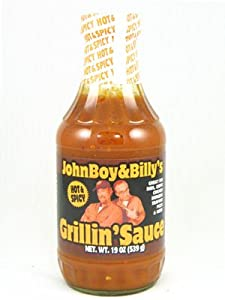 Johnboy And Billys Hot Spicy Grillin Sauce from John Boy and Billy