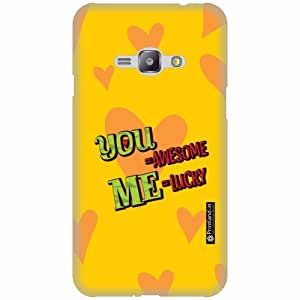 Printland Designer Back Cover for Samsung Galaxy J1 Ace - You & Me Case Cover