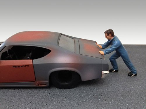 Mechanic Ken Figure For 1:24 Models by American Diorama 23902 - 1