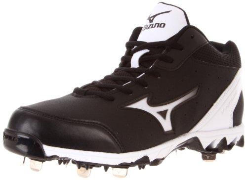 Mizuno Men's Mizuno 9-Spike V.7 Mid Switch Baseball Shoe